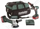 Metabo - Акум.Ъглошлайф METABO W 18 LTX 125 + BS 18 LTX Impuls
